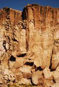 """Rock Climbing Photo: Climber """"Moreno"""" in 31 Metros de Chocola..."""