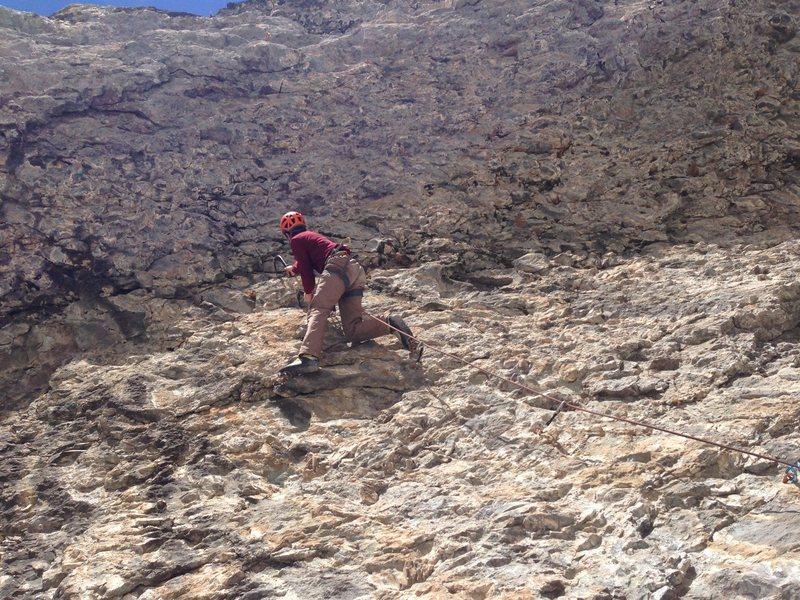 Rock Climbing Photo: Matt on Pull the Trigger.