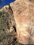 Rock Climbing Photo: Profile of the arete.