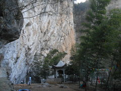 Rock Climbing Photo: Mingshuiquan, Xianning, Hubei province, P.R.China