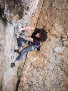 Rock Climbing Photo: Ben on the Guillotine