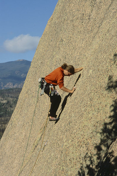 Rock Climbing Photo: Andy Donson, Beam Me Up Scotty.