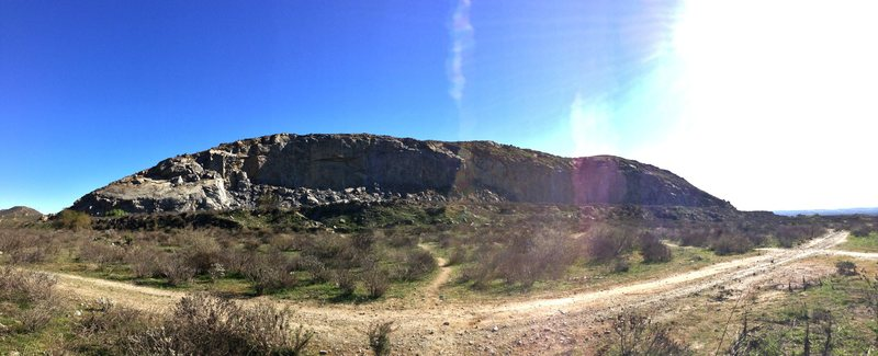 Riverside Quarry on a nice winter day!