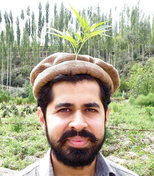 At the village in Hunza Valley, Karakoram, Pakistan