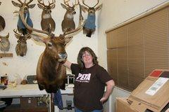 Rock Climbing Photo: elk & deer