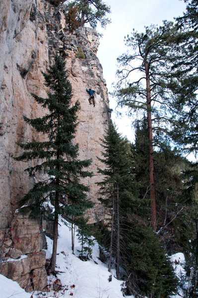Rock Climbing Photo: EBM