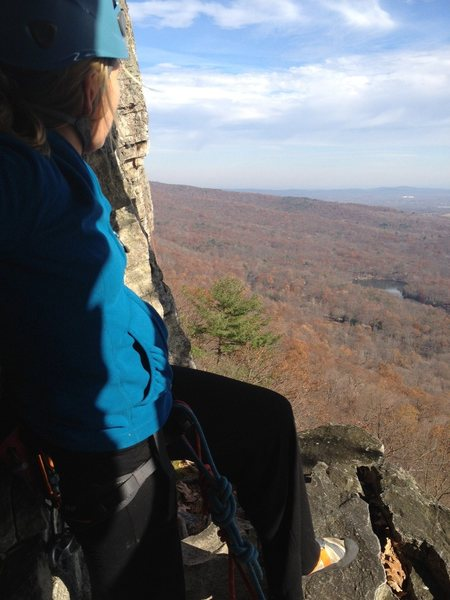 At the Gunks!