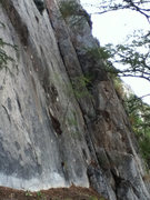 Rock Climbing Photo: Left-facing dihedral of Chipilín
