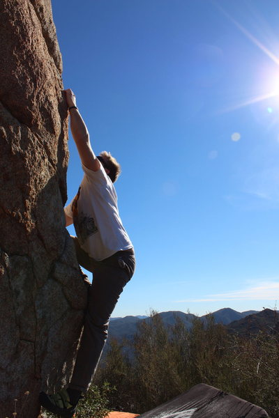 Rock Climbing Photo: beautiful day