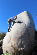 Rock Climbing Photo: at the first crux