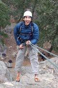 Rock Climbing Photo: Rappelling off of Lothlorien on the Watermark in B...