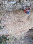 Rock Climbing Photo: Steep pockets!