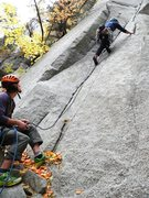 Rock Climbing Photo: Getting Started, Pitch 1
