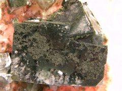 Rock Climbing Photo: Apophyllite-(NaF)on Stilbite with Scolecite. Nashi...