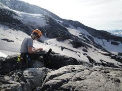 Rock Climbing Photo: Glacier research, Mt. Rainier