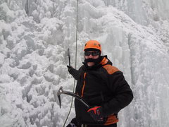 Rock Climbing Photo: Ouray Ice Fest 2013 with Chris.