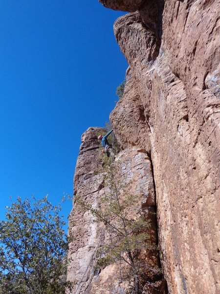 Rock Climbing Photo: Love Battery