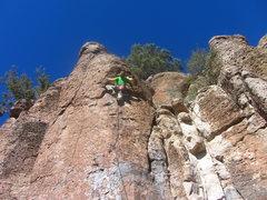 Rock Climbing Photo: Luke leading Somethings Gone Wrong Again