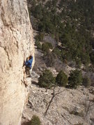 Rock Climbing Photo: Dave Earle leading Disciples of Hell.