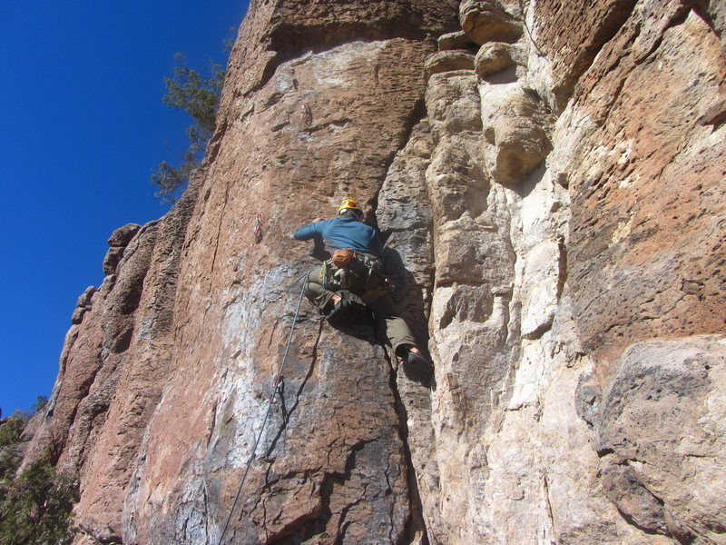 Rock Climbing Photo: The crack is so good you almost dont want to leave...