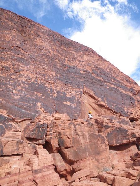 That's a big rock.