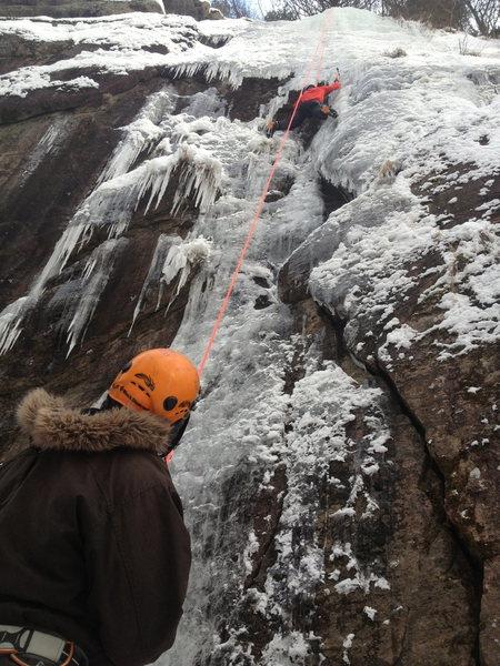 Rock Climbing Photo: TRing Zig-Zag crack