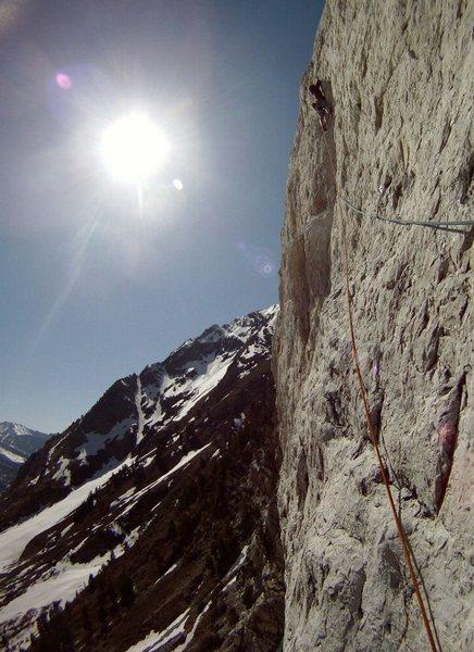 Rock Climbing Photo: Great climb! wear a helmet