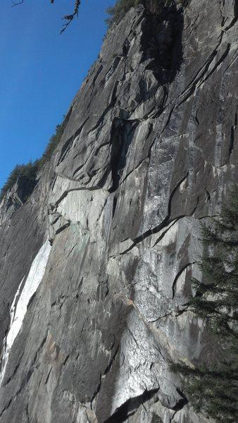 Rock Climbing Photo: Upper Town wall