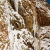 Storm Mountain Ice 1-14-13<br> Photo: Zach Clanton
