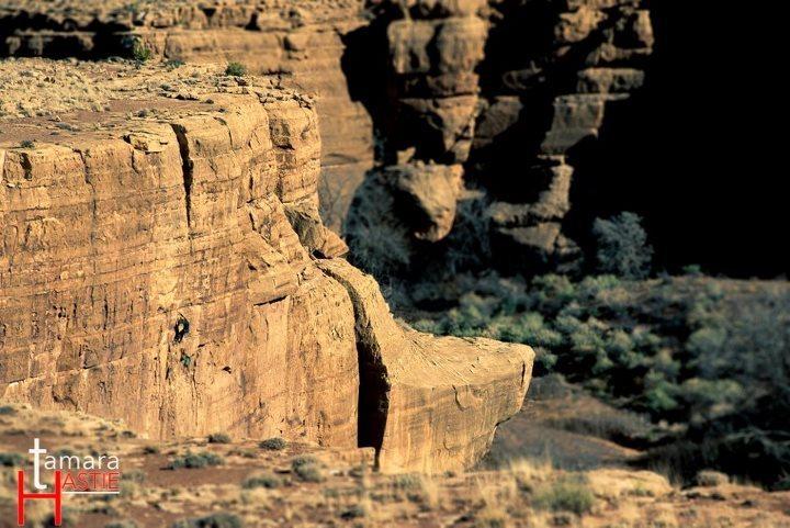 Rock Climbing Photo: no sun, no moon, no stars