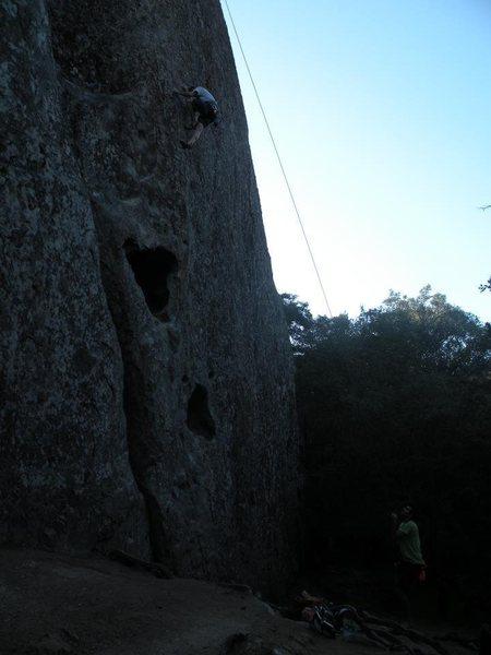 Rock Climbing Photo: Amazing Face
