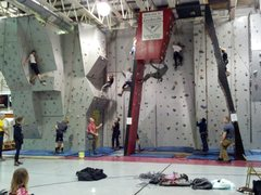 Crooksville Rec Center Climbing Wall 1