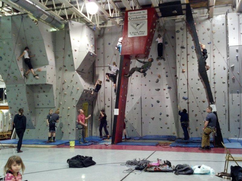 Crooksville Rec Center Climbing Wall 2