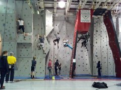 Crooksville Rec Center Climbing Wall 4