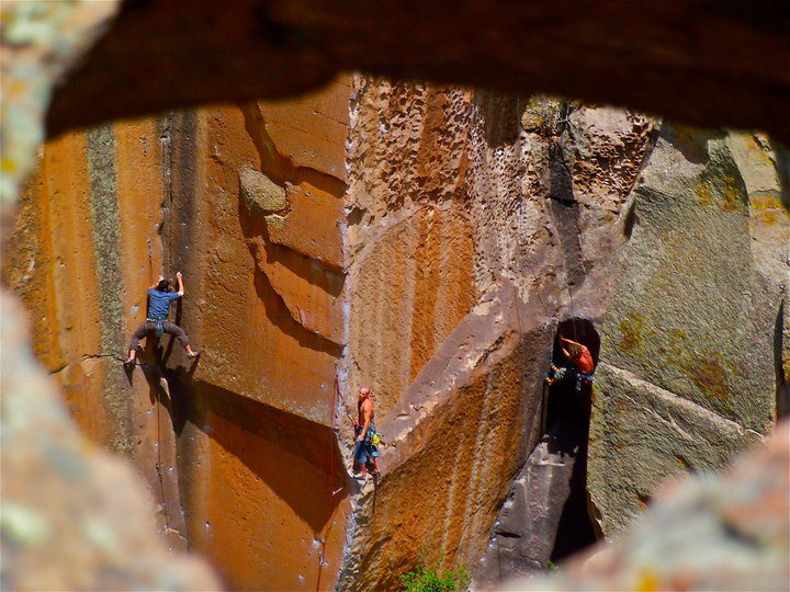 Rock Climbing Photo: Penitente