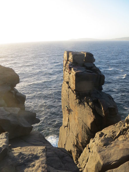 The Climb!  West Cape Howe