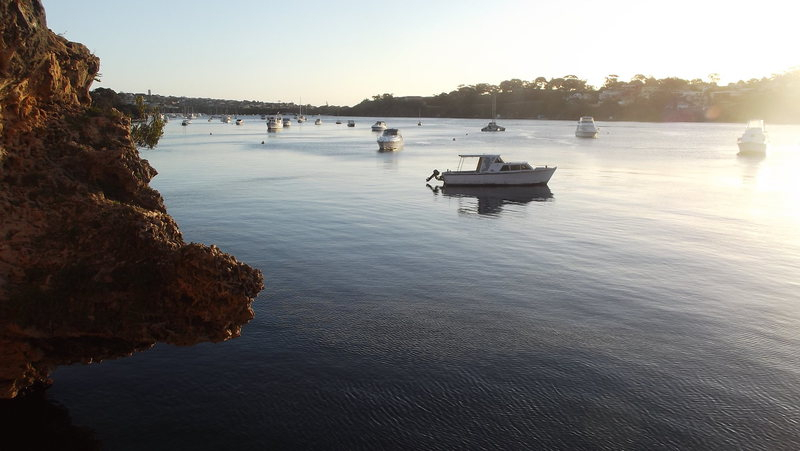 Rock Climbing Photo: Blackwall Reach on the swan River. Perth