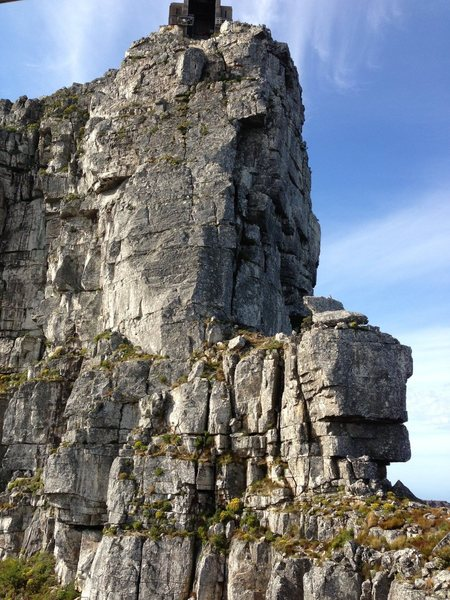 Rock Climbing Photo: Overview of Arrow Final, Table Mountain Cape Town