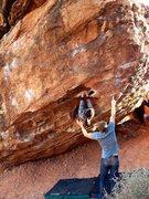Rock Climbing Photo: Monkey left