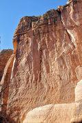 Rock Climbing Photo: Matt Greco prepping the BIG WALL!!!