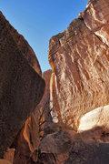 Rock Climbing Photo: A little further back