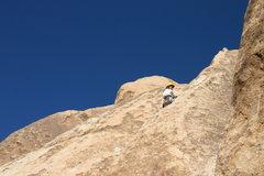 Rock Climbing Photo: Picnic 5.6 onsight