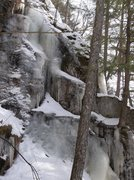 Rock Climbing Photo: It can start lower than photo. Its an easy exit of...