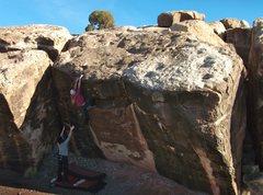 Rock Climbing Photo: La Boca, V3