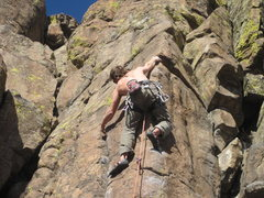 "Rock Climbing Photo: How to climb 5.12...My first legit 5.12, ""Han..."