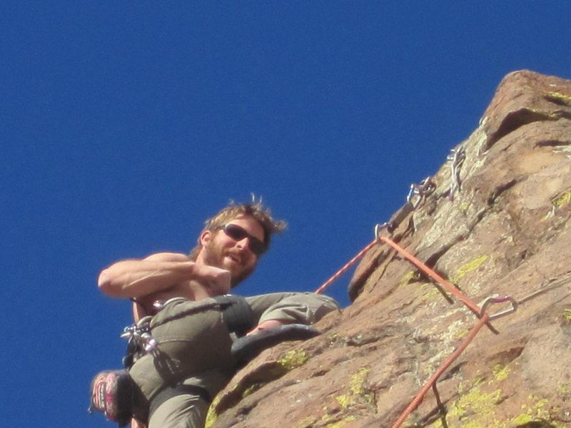12 years to climb 5.12