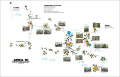 Rock Climbing Photo: Area 51 - Here is a map BDalhaus, sent me years ag...