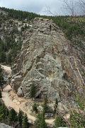 Rock Climbing Photo: Castle Rock.