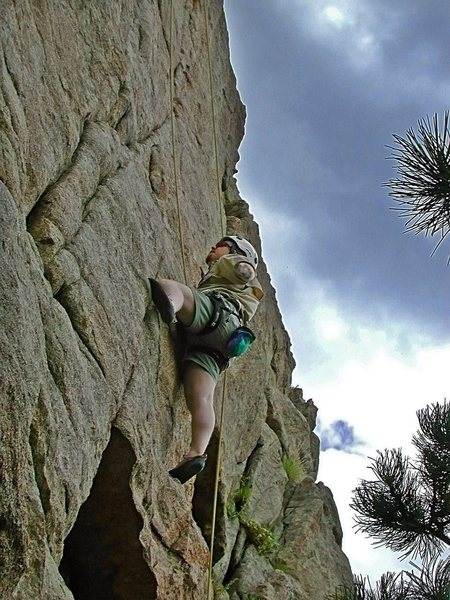 Rock Climbing Photo: I've always had questionable fashion sense,