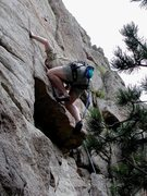 Rock Climbing Photo: I don't know where that harness or chalk bag went,...